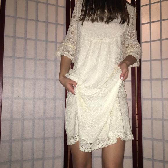 f174e49b37e58 Western Aesthetic Lace Dress